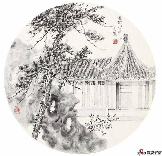 画桥三百映江城 50cm×50cm 2015