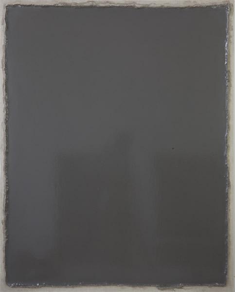 张震宇,《dust171202》,100cmx80cm,dust on canvas,2017
