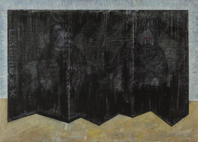 地狱犬 Cerberus 100x140cm 布面油画 2019