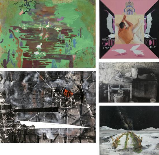 八大美院优势专业特别展区之四川美术学院油画系作品展