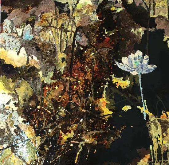 南京艺术学院-卞艺霖-壁画50x50cm