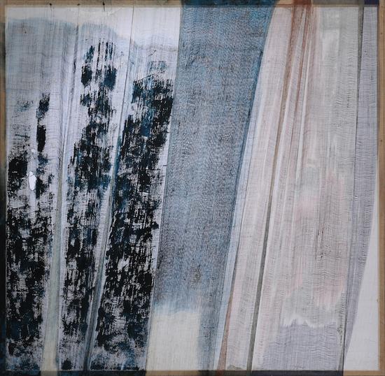 《折·2》177×177cm 大漆、苎麻 2018