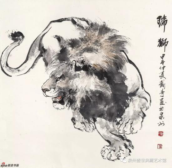 瑞狮 69cmx69cm