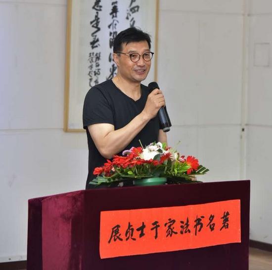 中国书法家协会党组副书记连江州
