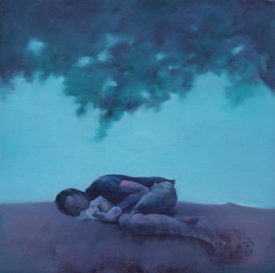 浮生·17 刘纪生 布面油画 50x50cm 2016年