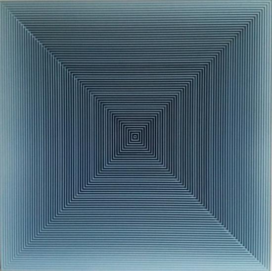 戈子馀-空.间018尺寸55x55,年代2017,材质:综合材料