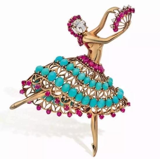 芭蕾舞伶胸针,每一款都是经典。