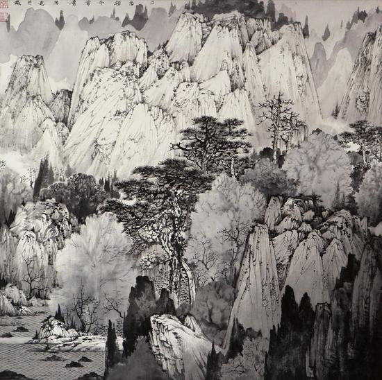 空暝50x50cm 2015常潇作品
