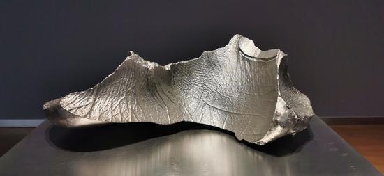 云中花园-岛屿 不锈钢3D打印 H55x25x25cm 2014-2019