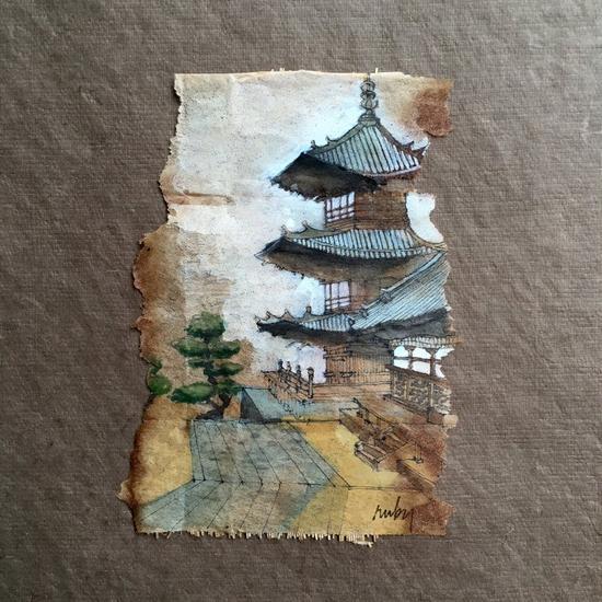 即便在没举行品茶仪式时,清水寺也美丽动人。
