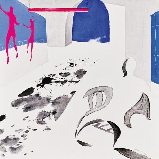 010 金田 Jin Tian丨星期天之十三 Sunday No.13丨布面油画 Oil on Canvas丨60×60cm丨2016