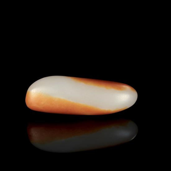 02569号拍品 新疆和田玉红皮籽料原石