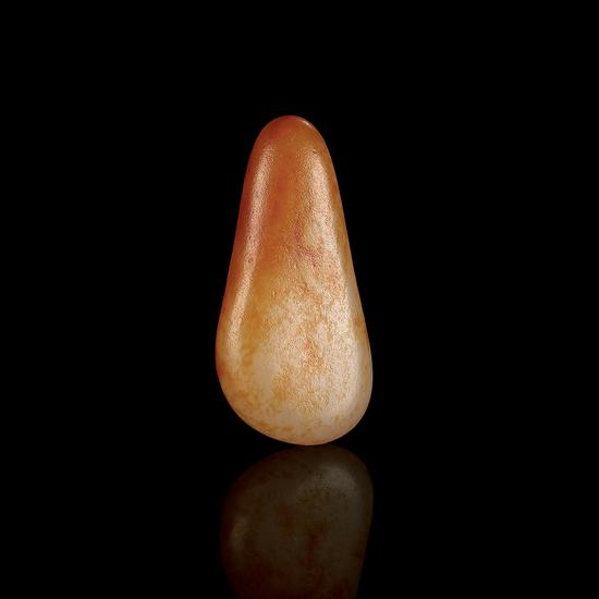 纯正血统的红皮无结构 02567号拍品 新疆和田玉红皮籽料原石