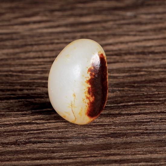 02565号拍品 新疆和田玉黑皮籽料原石