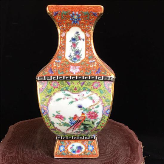 低劣的古瓷赝品(某淘宝瓷器店的印刷后上釉)