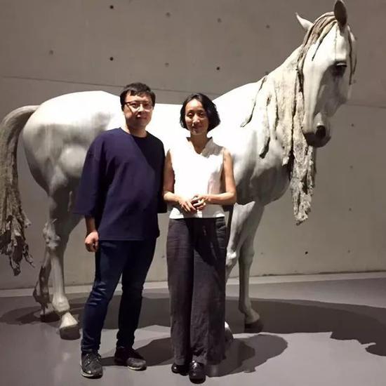 刘宏剑与艺术家向京