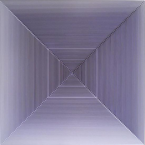 戈子馀-空.间019尺寸55x55,年代2017,材质:综合材料