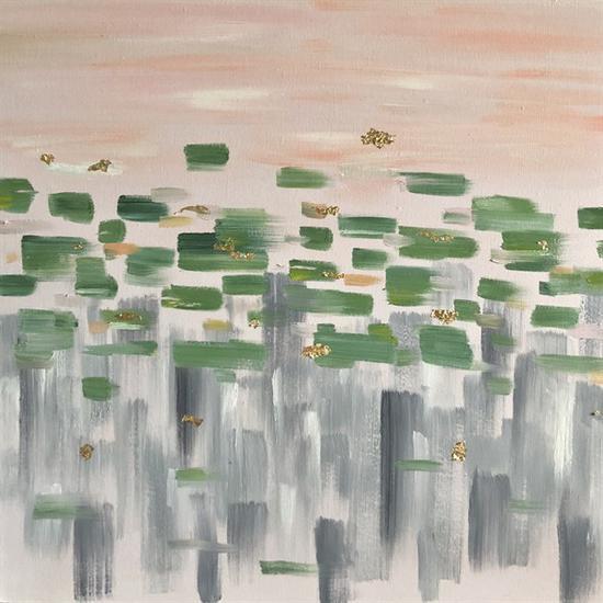 陈天歌《城市森林2(盛)》70×70cm