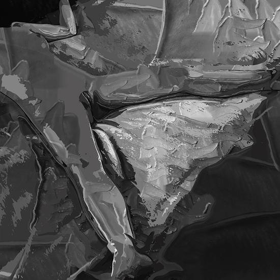 《温度》RX系列272 50cm x 50cm  新媒体综合材料  2013