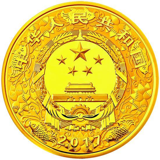 1991 中国辛未(羊)年纪念金币  1枚 金 面值 1000元 12盎司 精制 发行量 200枚  起拍价: RMB 180,000