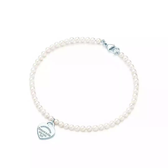 Tiffany&Co 蒂芙尼淡水珍珠手镯