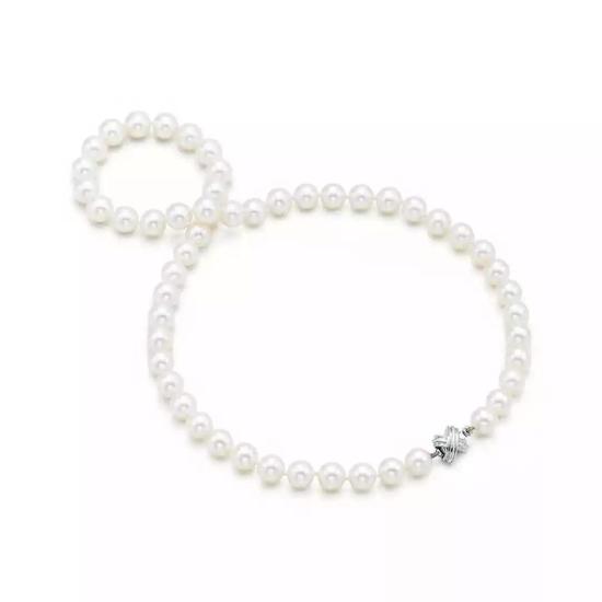 Tiffany&Co 蒂芙尼淡水珍珠项链