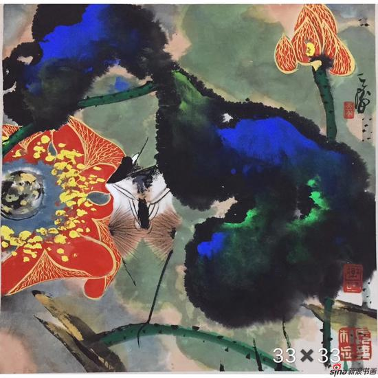 韩天衡-精品花鸟-33x33