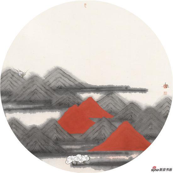 共春风60×60cm·2018年