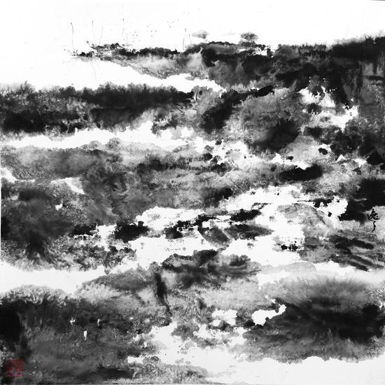 濮��镐� 姹�����瀹� 绾告��姘村�� 70�70cm 2010