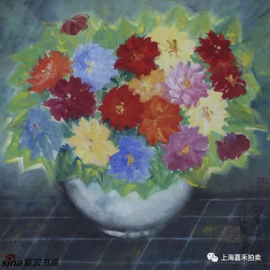 嘉禾春拍林风眠/人物风景花鸟册