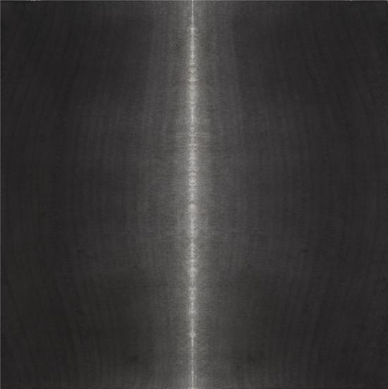 顷之之七-97×97cm-宣纸水墨,矿物质色