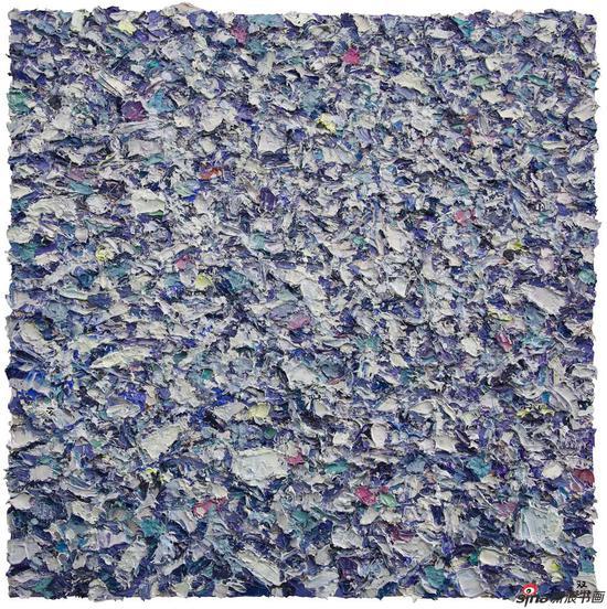 城墟NO.09-80x80cm-布面油画-2017