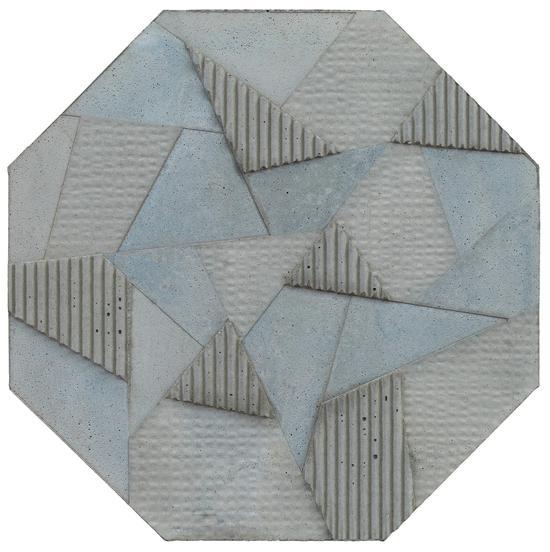 王豪 远 201704 水泥综合材料 八边形每条边13cm,厚度2.5cm