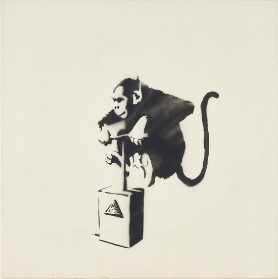 班克斯《猴子雷管》