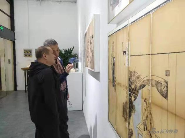王利丰纸本作品展