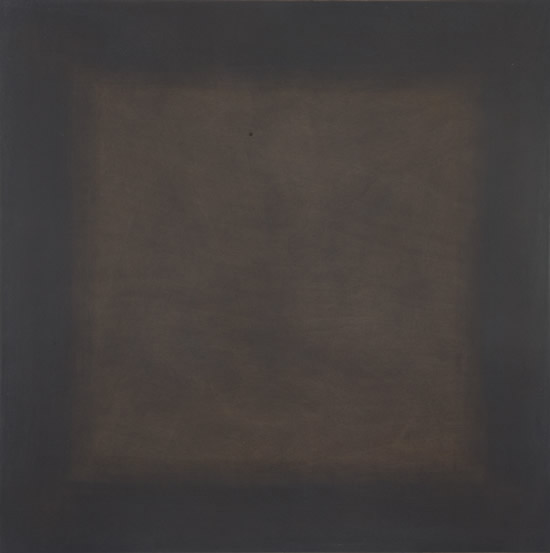 张震宇,《dust180616》,100cmx100cm,dust on board,2018