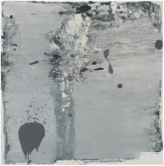 冯良鸿 《15-3-8》 布面油画 150x150cm 2015