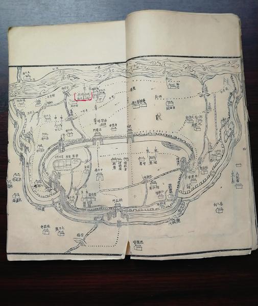 射阳县90后小伙子收藏到一套全本光绪版的《阜宁县志》昔日阜宁,好不繁华
