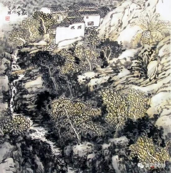 俞宏理山水国画