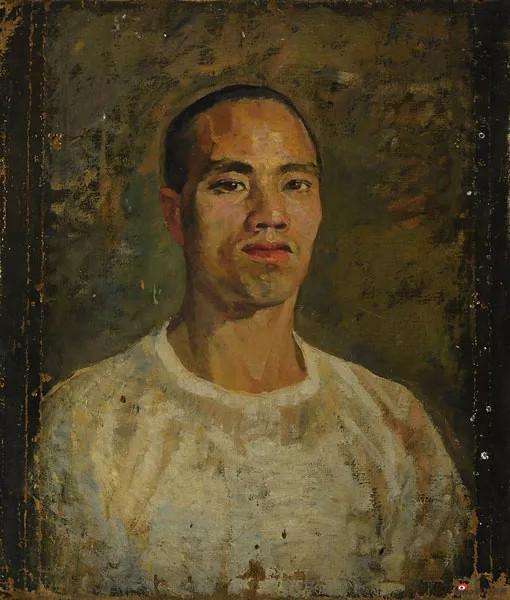 自画像,戴泽,1946