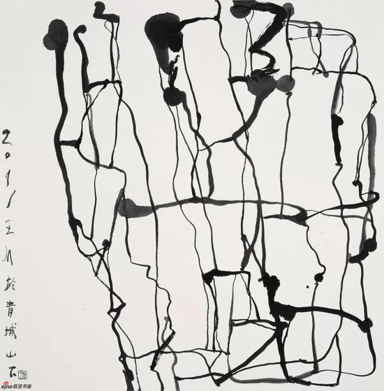 王川 纸本水墨 69x69cm 2011