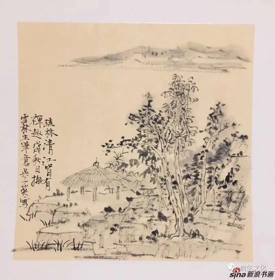 近距离欣赏吴子英精品国画展