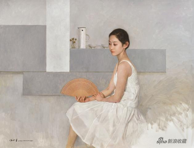 陈衍宁 仲夏 布面油画 121×157cm 2019年
