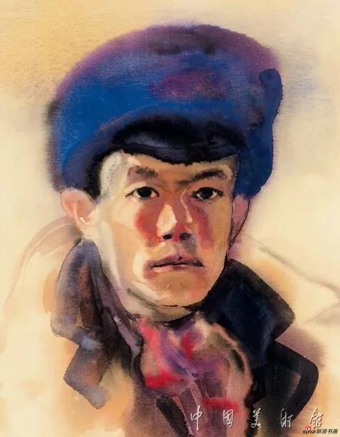 自画像,周令钊,1947