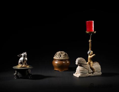 《器用为上设计作品》,金银铜石头,来自逸居艺术中心
