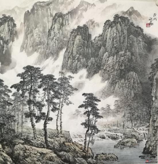 """2018""""集萃丹青""""天津名家作品展之名家陈钢"""