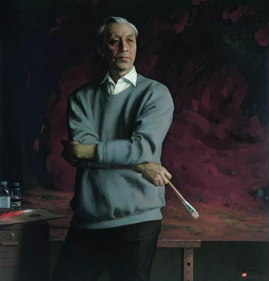 画家詹建俊,靳尚谊,1994