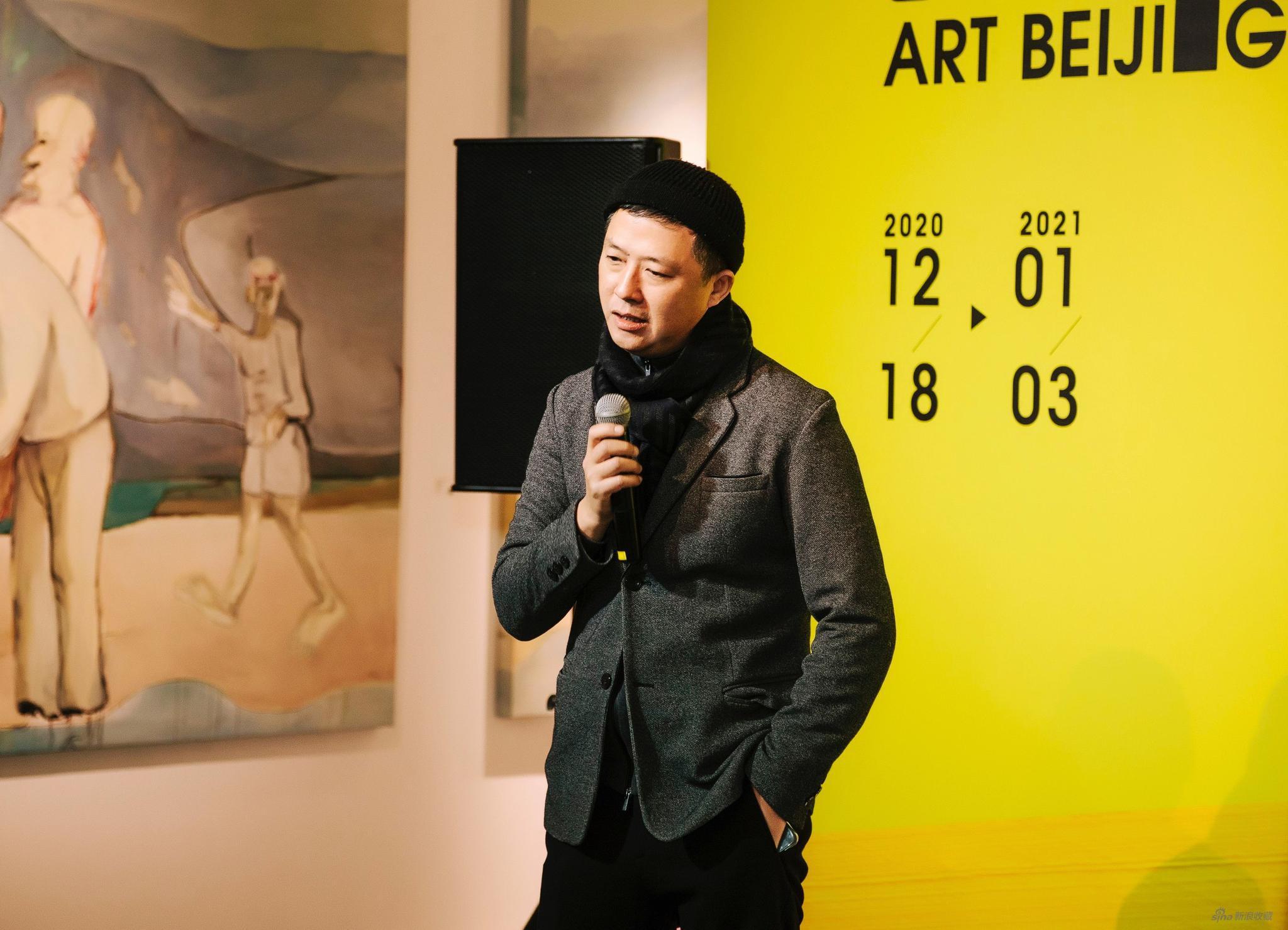 艺术北京创始人董梦阳