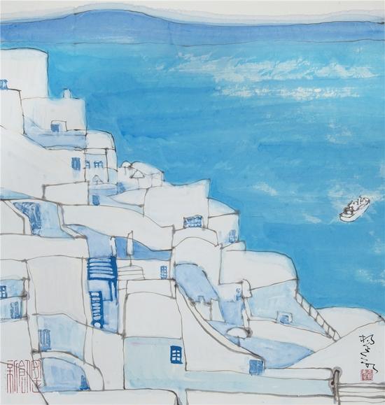 杨正新作品:爱琴海