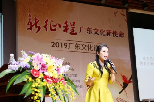 广东省文化学会副会长、广州市玮瑜文化有限公司董事长冯玮瑜